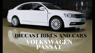 MINIATURE VOLKSWAGEN PASSAT 2015 DIECAST MODEL | SCALE 1:30 | CLASSIC DIECAST SEDAN CARS