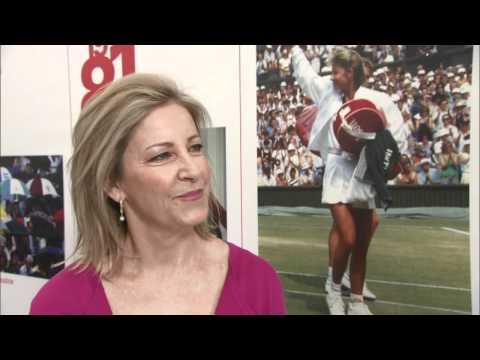 Wimbledon 2012: Chris Evert