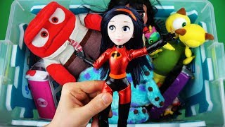 Colors, characters & insects: Frozen, Ben & Holly, Incredibles, Peppa etc toys - Learn for children