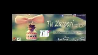Zid_ 'Tu Zaroori' (Unplugged Male Version) - Ft. Amit Sengar