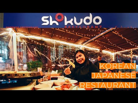 MOST AFFORDABLE AND QUALITY BUFFET KOREAN-JAPANESE RESTAURANT IN DUBAI? SHOKUDO  MUKBANG  DUBAI