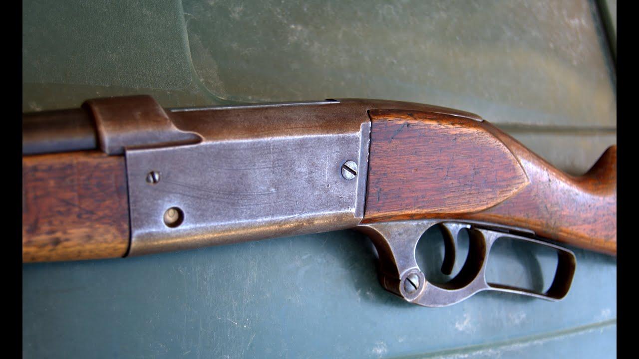 Savage Model 1899 - Shooting This 114 Year Old Rifle -  303 Savage