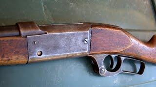Savage Model 1899  - Shooting This 114 Year Old Rifle - .303 Savage
