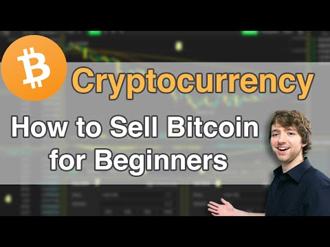How To Sell Bitcoin For Beginners