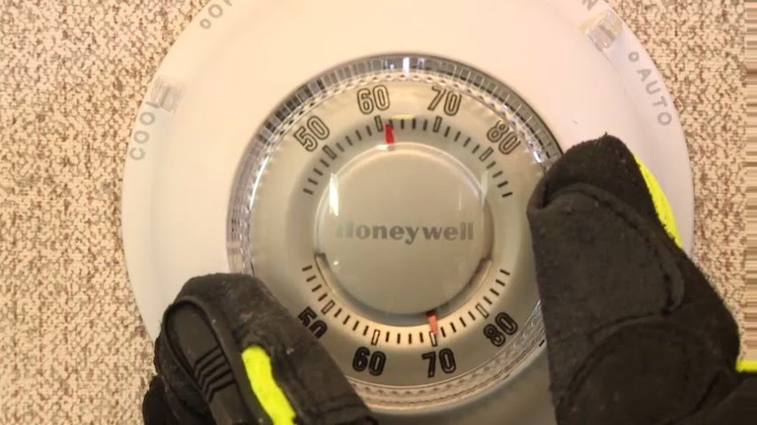 How to Set the Manual Thermostat in Your Office Trailer   ModSpace