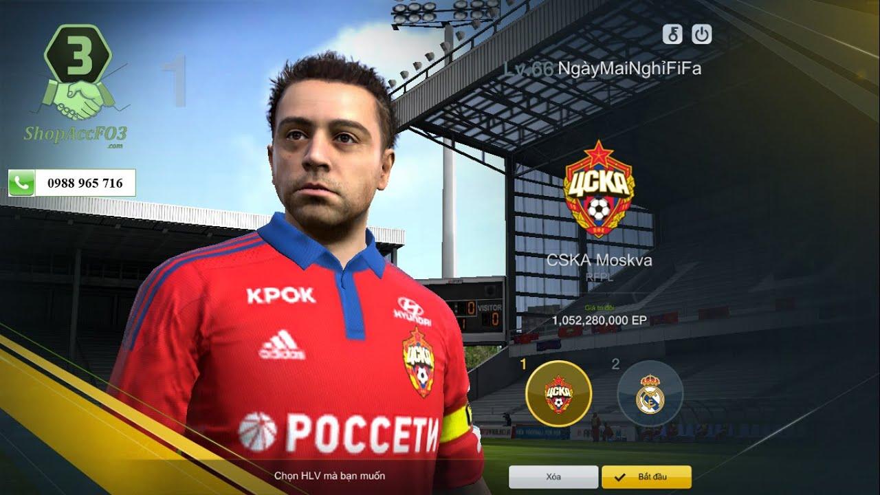 Mua Bán Acc Fifa Online 3 | GTĐH 1,1 Tỷ | 12Tr EP Trắng | Chủ Team  FCHamRong36 | Giá KM 1000K - YouTube