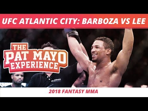 2018 Fantasy MMA: UFC Atlantic City - Barboza vs Lee DraftKings Preview and Fight-By-Fight Picks