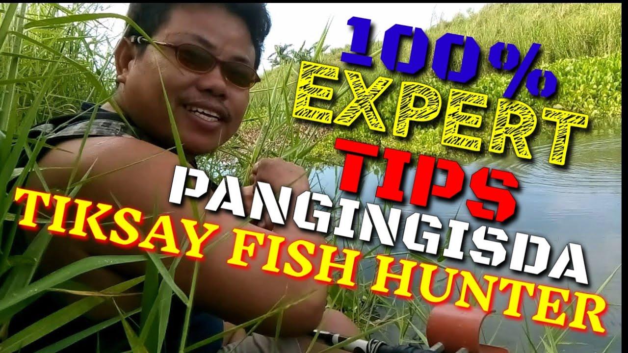PANO GULANGAN ANG ISDA ( TIPS NA NAKAKABALIW NA IDEA pero EFFECTIVE)TIKSAY FISH HUNTING