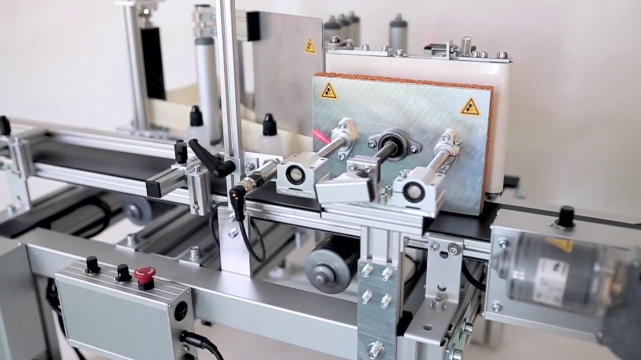Etikettiermaschine universal & flexibel - InnTecFlow GmbH