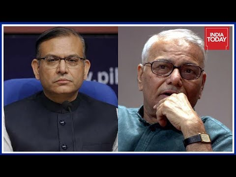 Jayant Sinha Rubbishes Yashwant Sinha's Claims On Economic Crisis