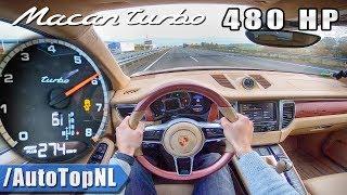 PORSCHE MACAN TURBO 480HP Elmerhaus 274km/h AUTOBAHN POV by AutoTopNL