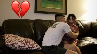 I MADE HER CRY! BREAK UP PRANK ON GIRLFRIEND GONE WRONG! (EMOTIONAL)