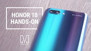 Honor 10 Unboxing and Hands-On