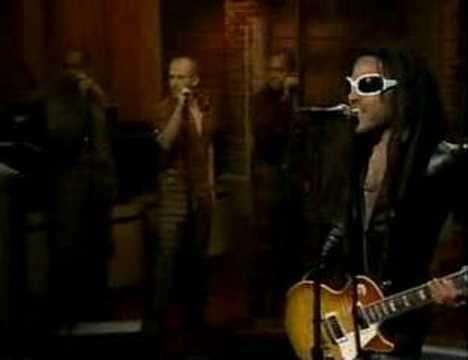 "Lenny Kravitz-David Letterman Show-""Rock and Roll Is Dead ..."