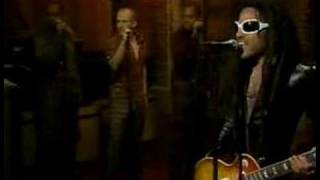 "Lenny Kravitz-David Letterman Show-""Rock and Roll Is Dead"""