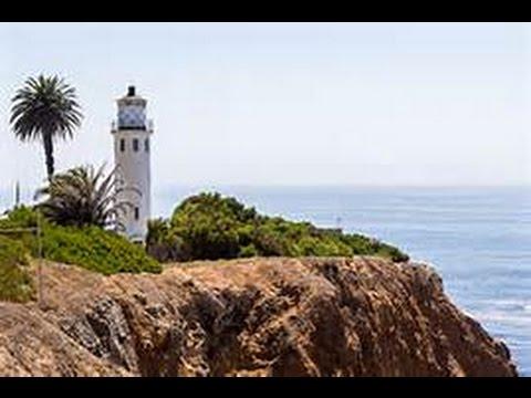Flying my Phantom 4 near  Point Vicente Lighthouse on the Palos Verdes Peninsula