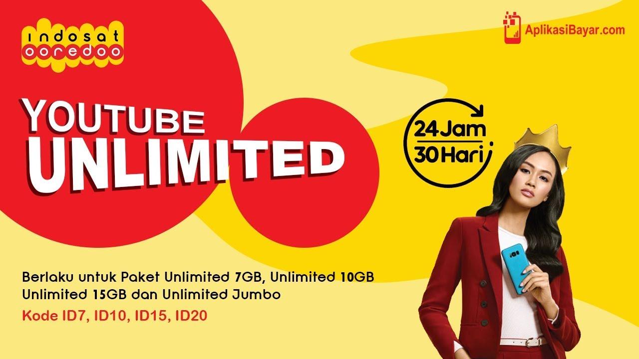 Youtube 24 Jam 30 Hari Sepuasnya Dari Indosat Ooredo Youtube