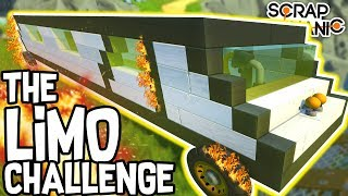 Scrap Mechanic - THE LIMO CHALLENGE!! VS AshDubh & Speedy - [#54] | Gameplay