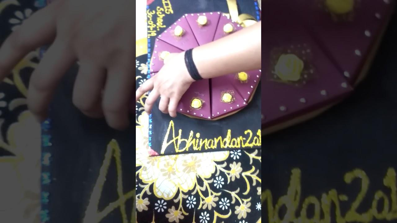 Freshers invitation card - YouTube