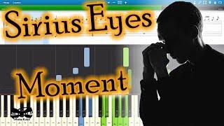 Sirius Eyes Moment на пианино Synthesia Cover Ноты и MIDI