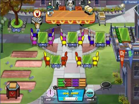Diner Dash 5: BOOM! - Dinertown University Level 7 & 8