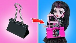 видео куклы монстер хай как сделать вещи