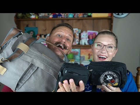 What's In Our Theme Park Bags?! | Vlogging Gear, Florida Essentials & More!