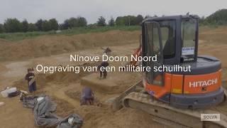 Ninove Doorn Noord: opgraving van een militaire schuilhut