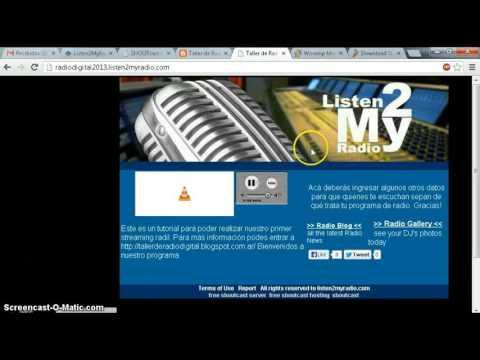 Radio Digital Winamp Shoutcast Parte 3