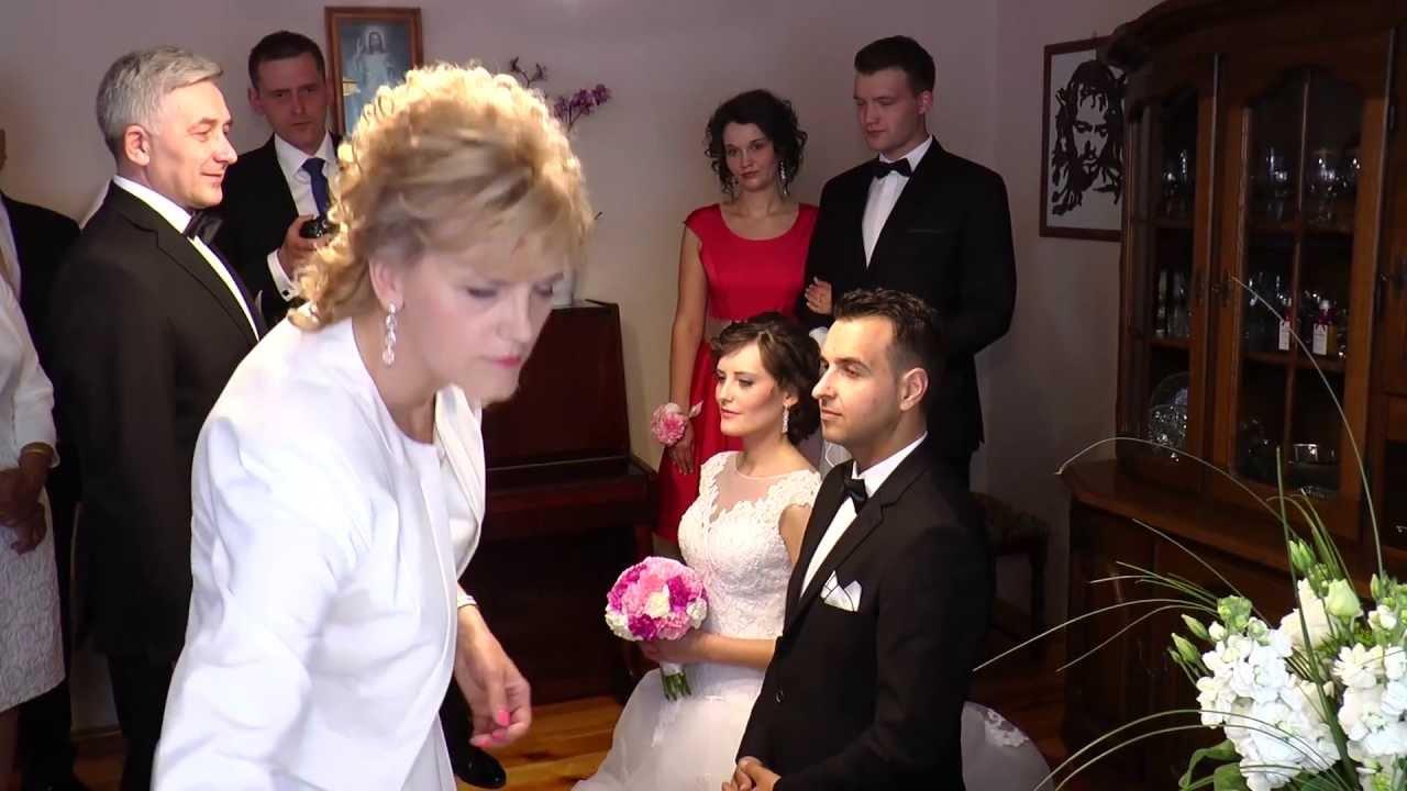 Błogosławieństwo ślubne Państwa Młodych
