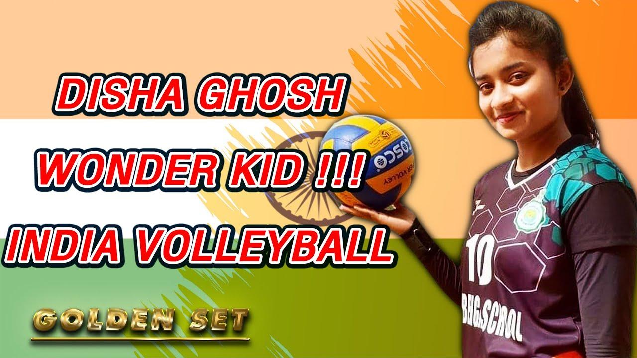 Disha Ghosh Wonder Kid India Volleyball Highlights Youtube
