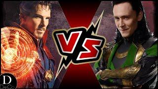 Dr. Strange VS Loki   Who Wins?