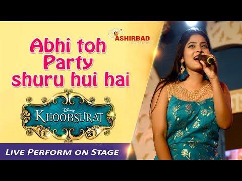 'Abhi Toh Party Shuru Hui Hai' | Khoobsurat | Badshah | Aastha | Rojalin Sahu Live Performance#