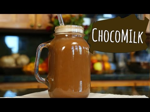 LECHE CON CHOCOLATE! Receta Saludable