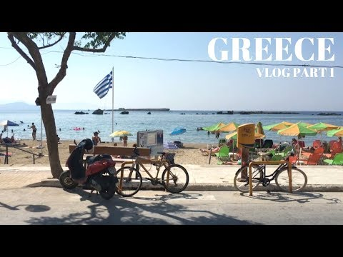 TRAVEL VLOG | CRETE, GREECE PT 1