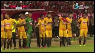 Momen Penalti -- PSM Makassar vs Sriwijaya FC 1-0  -- Liga 1 -- 21/5/2017