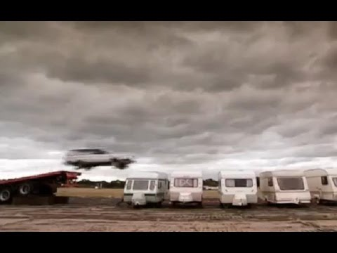 Crazy Caravan Jump (HQ) | Top Gear Series 3 | BBC
