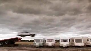 Crazy Caravan Jump (HQ) | Top Gear