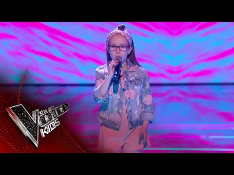 Brooke Performs 'Til I'm Done': The Semi Final | The Voice Kids UK 2018