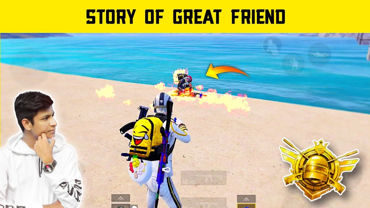😤 Story Of Great Friendship Conqueror Lose - Pubg Mobile Gameplay - Legend X