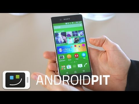 Sony Xperia Z3+ Review en español
