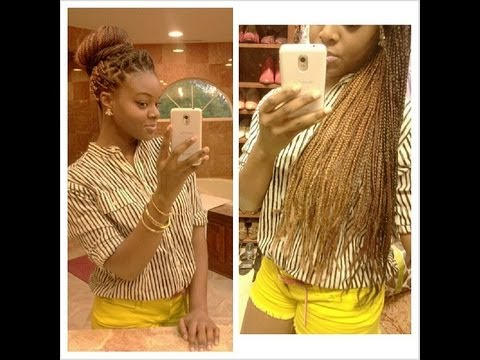 Ombre Box Braids Youtube