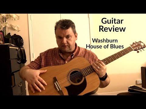 Guitar Review || Washburn House Of Blues HOBA