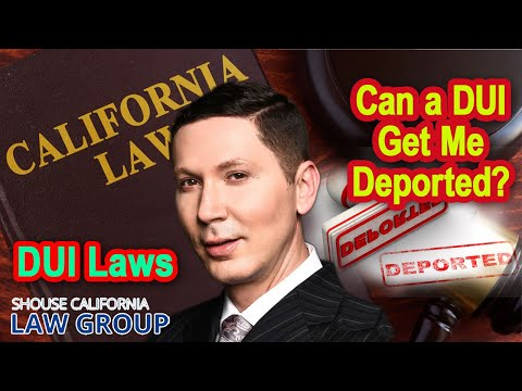 Can a DUI get me deported?