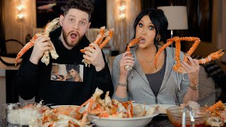Q&A WHILE EATING CRAB WITH MY BOYFRIEND