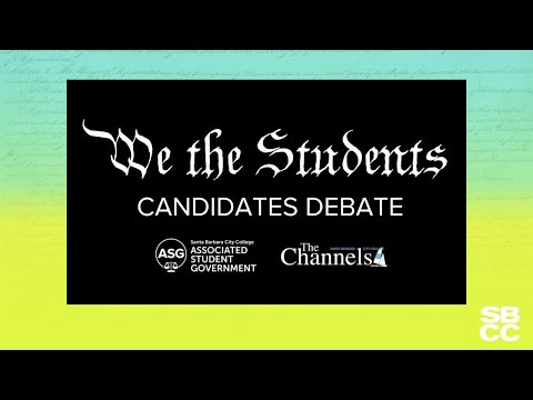 """""""We the Students: ASG Candidates Debate"""""""