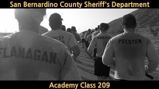 Sheriff's Academy Class 209