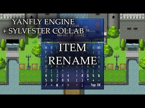 Item Rename (YEP) - Yanfly moe Wiki
