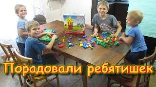 Подарили детям супер-конструктор! Korbo (06.20г.) Семья Бровченко.