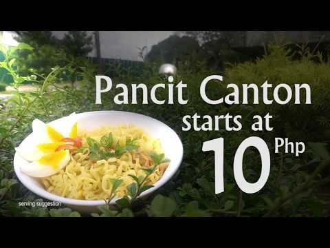 Pancit Canton Commercial - Room A's Mart